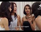 """Minh Tú nổi điên khi bị thí sinh Indonesia gọi là """"đồ bẩn thỉu"""""""