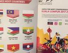 Malaysia xin lỗi Indonesia vì sự cố nhầm cờ tại SEA Games