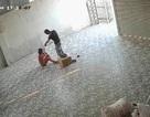 Chủ nhà chắp tay quỳ xin đối tượng lạ mặt lao vào nhà đánh