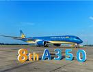 """Cận cảnh siêu máy bay A350-900 vừa """"cập bến"""" Nội Bài"""