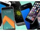 Top 10 smartphone cho hiệu suất tốt nhất trong năm 2016