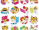 """Tải ngay bộ sticker """"chú hổ Malayan"""" mừng sự kiện thể thao SEA Games 2017"""