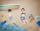 """Ngộ nghĩnh bộ ảnh gia đình với """"kì nghỉ hè trên cạn"""" thu hút cư dân mạng"""