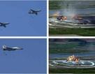 """Mãn nhãn màn """"so găng"""" của máy bay chiến đấu Triều Tiên"""