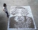 Bức chân dung tuyệt đẹp được vẽ từ... 20 ngàn hạt hướng dương