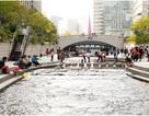 Suối nhân tạo giữa lòng thành phố
