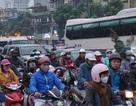 Hà Nội: Chiều ngày làm việc trước kỳ nghỉ lễ, đường phố ùn ứ kéo dài