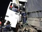Hà Nội: 3 ô tô dồn toa trên cao tốc, 2 người tử vong