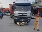 Nữ trung úy công an bị xe đầu kéo cán tử vong