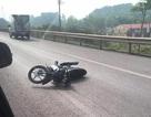 CSGT bị xe máy tông nguy kịch trên cao tốc Hà Nội - Thái Nguyên