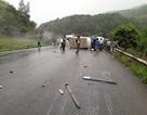 2 ô tô tông nhau, nhiều người bị thương