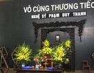 Người thân, đồng nghiệp nghẹn ngào bên linh cữu nghệ sỹ Duy Thanh