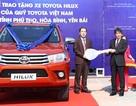 Toyota tặng xe Hilux làm xe tuần tra giao thông