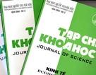 Chưa đến 10% tạp chí khoa học của Việt Nam được xuất bản bằng tiếng Anh