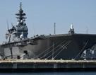 Nhật điều tàu chiến lớn nhất hộ tống tàu Mỹ ở Thái Bình Dương