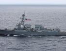 Tàu chiến Mỹ vào gần quần đảo Hoàng Sa