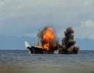 Indonesia đánh chìm 81 tàu cá đánh bắt trái phép