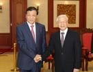 Tổng Bí thư Nguyễn Phú Trọng tiếp Bí thư Ban Bí thư Trung ương Đảng Cộng sản Trung Quốc