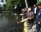 Tổng Bí thư dâng hương lên Bác, thăm ao cá Bác Hồ