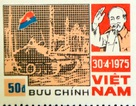 Dấu ấn ngày Giải phóng miền Nam trên những con tem Bưu chính
