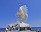 Mỹ công bố video tàu chiến nã tên lửa vào căn cứ tại Syria