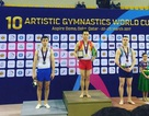 Lê Thanh Tùng giành HCV ở Cúp Thể dục dụng cụ thế giới 2017
