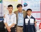 Hai học trò lớp 9 chế tạo máy chưng cất nước biển thành nước ngọt