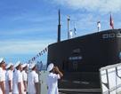 Thượng cờ 2 tàu ngầm Bà Rịa - Vũng Tàu và Đà Nẵng vào cuối tháng 2