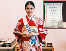 Thuỳ Dung nhận được giải thưởng đầu tiên tại Hoa hậu Quốc tế 2017