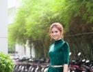 """Á hậu Thùy Dung khuyên các bé """"mê showbiz"""" cân bằng việc học năm mới"""