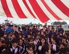 """Hơn 500 học sinh Hưng Yên """"đội mưa"""" tham gia ngày hội tư vấn tuyển sinh"""