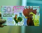 """""""Săn"""" tiền in hình con gà, số seri đẹp dịp Tết Đinh Dậu"""