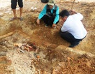 Tìm thấy huyệt mộ vợ vua Nguyễn bị san ủi tại dự án bãi đỗ xe