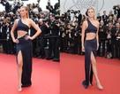 Tình cũ của Leonardo DiCaprio diện váy xẻ bạo khoe chân dài