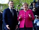 Thủ tướng Đức tiếp Tổng thống trẻ nhất trong lịch sử Pháp
