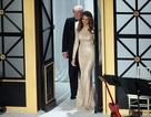 Vợ chồng ông Trump sánh đôi trong dạ tiệc thắp nến trước lễ nhậm chức