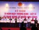 Trao bằng Tổ quốc ghi công tới đại diện 498 gia đình liệt sĩ