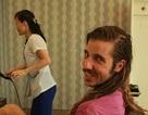 """Du khách """"lặn lội"""" đến Triều Tiên để trải nghiệm dịch vụ cắt tóc"""