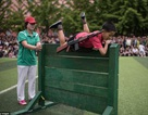 """Trẻ em Triều Tiên luyện kỹ năng quân sự để """"đánh bại kẻ thù"""""""