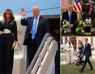 Ả-rập Xê-út bắn đại bác chào đón Tổng thống Mỹ Donald Trump