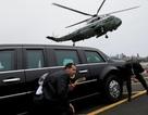 """""""Lá chắn"""" an ninh kiên cố của Tổng thống Trump"""