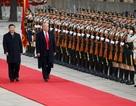 Trung Quốc trải thảm đỏ, bắn đại bác đón Tổng thống Trump