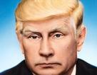 Báo Đức đăng ảnh Tổng thống Putin với kiểu tóc của ông Trump
