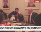 Bữa tối gây tranh cãi của ông Trump