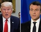 Washington Post: Khác biệt chính trị giữa ông Trump và Macron