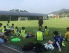 U22 Việt Nam lại được tẩm bổ ở Hàn Quốc, sẵn sàng đấu Busan FC