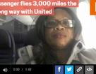 Hãng bay chở hành khách đi sai hướng 3000 dặm