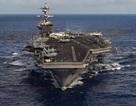Tàu sân bay Mỹ phô diễn uy lực trên các vùng biển châu Á