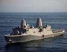 Tàu Hải quân Mỹ dừng chân kỹ thuật tại Cảng Quốc tế Cam Ranh
