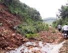 Sạt lở đất ở Văn Yên, 1 người chết, 4 người bị thương